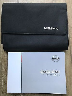 Genuine Nissan Xtrail X-Trail Owners Manual And Wallet 2007-2013