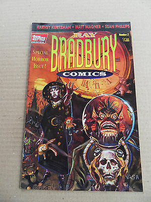 Ray Bradbury Comics 2 . Special Horror Issue - Topps 1993, - VF