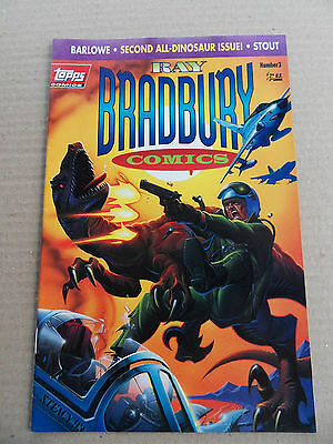 Ray Bradbury Comics  3 . All Dinosaur Issue - Topps 1993 - FN / VF