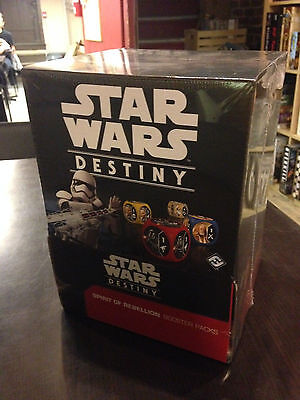 Star Wars: Destiny - Spirit of Rebellion Booster Box - NEW AND SEALED!