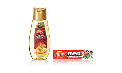 Dabur Almond Hair Oil For Damage Free Hair With Almond Protein 500ml (US Seller)