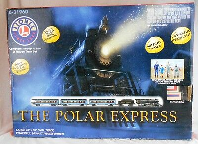 Lionel Polar Express Set 6-31960 Nearly Complete in Original Box