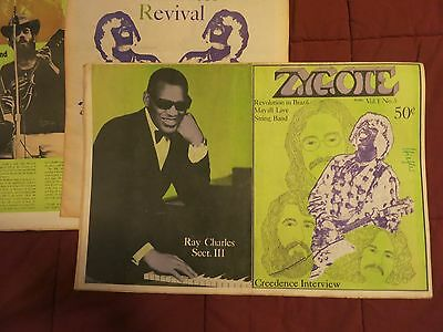 ZYGOTE++RARE!!+US Underground+3 Parts+1970+Creedence ClearwaterRv/Dylan/The Band