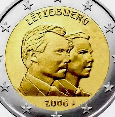 Luxembourg 2 Euro Commemorative Coin 2006 Guillaume New BUNC From Roll
