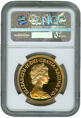 Great Britain 1984 5 Pounds NGC PF69 Ultra Cameo