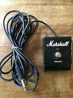 Marshall Single Channel One Button foot pedal switch guitar amplifier 16' cable
