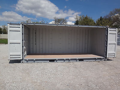 20' Shipping/Storage Container Full Open side Delivery to NE, IA, KS, MO, SD