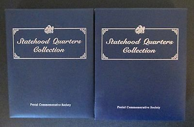 Postal Commemorative Society Statehood Quarters Collection Vol 1 & 2