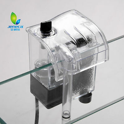 Aquarium Fish Tank Filter Pump Hang On & External Cascade Flow Waterfall Pump