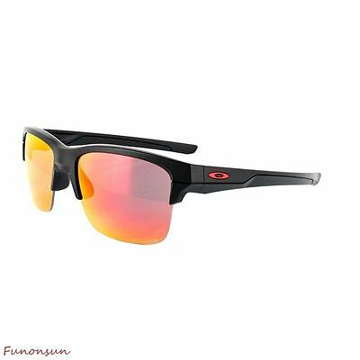 Oakley Men's Sunglasses Thinlink OO9316-07 Matte Black Polarized Iridium Lens