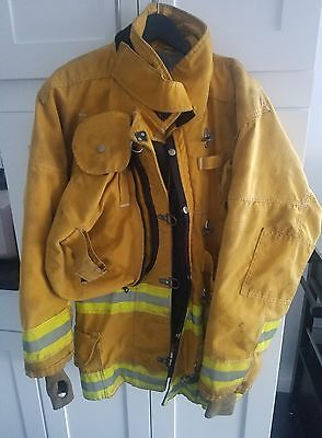 Janesville Firefighter structural brush Jacket turnout gear 42 x 32R preowned