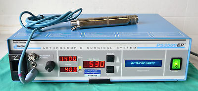 Smith & Nephew Dyonics PS3500 EP Arthroscopic Shaver / Dyonics 3134 Handpiece