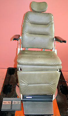 Reliance 980 ENT Power Exam Chair wih Foot Switch - Works