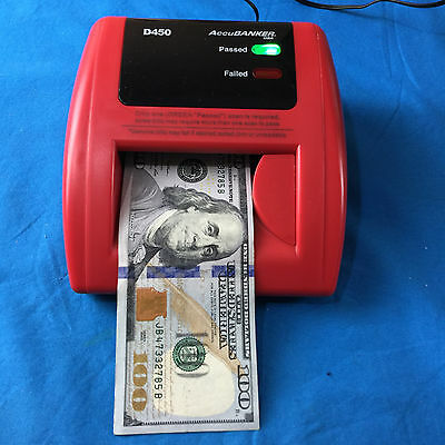 AccuBanker D450 Counterfeit Money Detector ✔Ships Same Day For Free!!