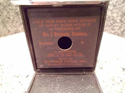 Antique Kodak Eastman No. 1 Brownie Model B Box Camera 1908 Rare Photography