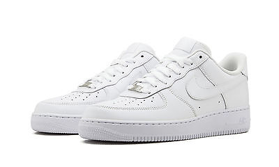 Nike Air Force 1 Low Men's Shoes White/White Leather 315122-111
