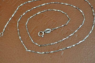 45cm length 1mm width 925 silver Chain necklace Free shipping