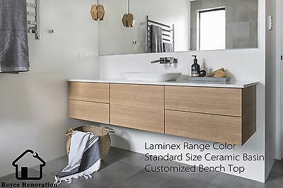 Customized Vanity With Different Sizes & Laminex Color  Local Factory Made Quote