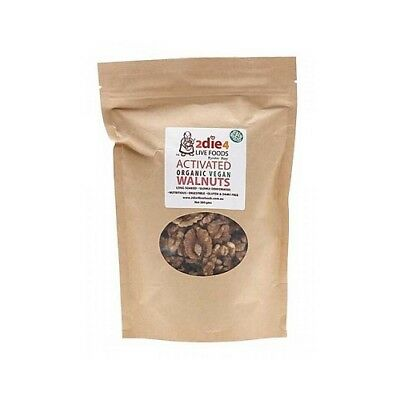 NEW  2DIE4 LIVE FOODS Activated Organic Vegan Walnuts