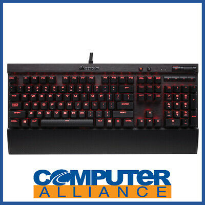 Corsair Wired K70 RAPIDFIRE with Red LED Gaming Keyboard PN CH-9101024-NA