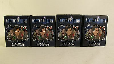 Doctor Who Titans Series 1 Blind Box Vinyl Figure LOT OF 4