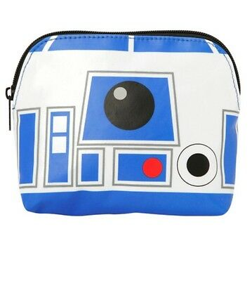 Star Wars Disney R2D2 R2-D2 Cosmetic Make Up Tote Bag New With Tags!