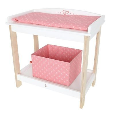 Baby Changing Table by Hape | Kids Childrens Wooden Playsets Dolls