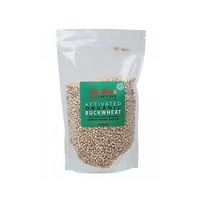 NEW  2DIE4 LIVE FOODS Activated Organic Buckwheat