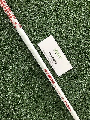 Fujikura ATMOS TS Red 6s Brand New Uncut Shaft Free Adapter And Grip