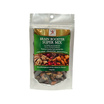 NEW  DR SUPERFOODS Brain Booster Super Mix 150g