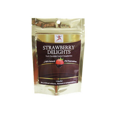 NEW  DR SUPERFOODS Strawberry Delights 125g