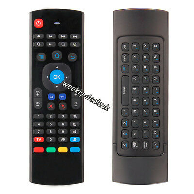 2.4Ghz Backlit Air Mouse Wireless Voice Keyboard Remote for KODI TV BOX PC M8S+