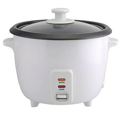 2 Litre / 8 Cup Rice Cooker - White