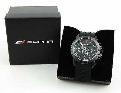 SEAT Cupra BLACK Racing Stailness Stell Automatic Watch