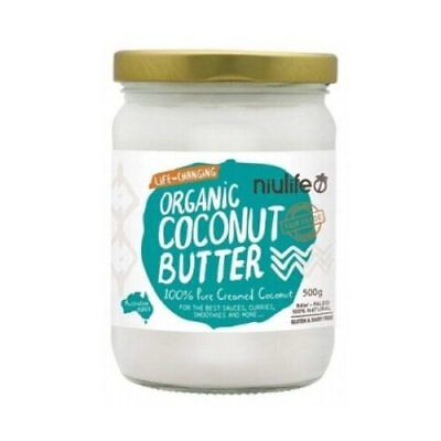 NEW  NIULIFE Organic Coconut Butter 500g