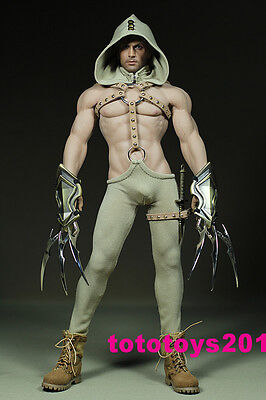 "1:6 Scale Hooked claws suit for 12"" Phicen M34 Male Muscular Body Model"