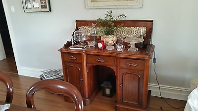 Antique Victorian Mahogany Chiffonier / Sideboard / Wash Stand