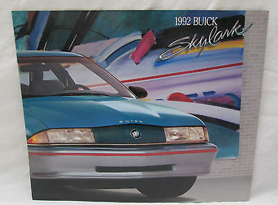 Vintage 1992 Skylark by Buick Color Brochure with Specifications