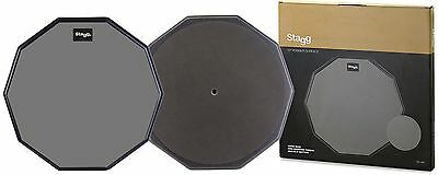 """Stagg 12"""" Rubber Practice Pad TD-12R"""