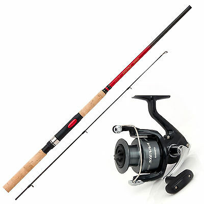 Spinnfischen Angelset Combo - Shimano Angelrute & Angelrolle Set - Angeln NO.1
