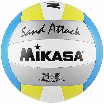Mikasa Sand Attack Beachvolleyball Official FIVB Ball Volleyball Strandball NEU