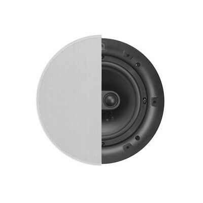 Q Install QI65ST 6.5″ Professional In-Ceiling Stereo Speaker w/ Circular Grille