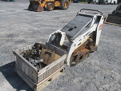 Bobcat MT55 Stand On Skid Steer Loader! This is a Parts Machine!
