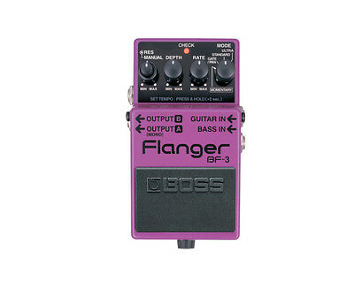 Boss BF-3 Flanger Electric Guitar Effects Pedal (BF3 BF 3)