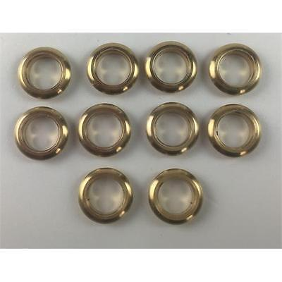 10 x Brass Glazed Portholes 5mm For Model Boats