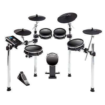 Alesis DM10 MKII Studio Kit 9-Piece USB MIDI Electronic Drum Set