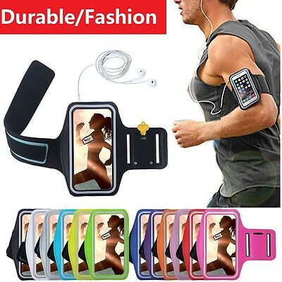 For Huawei P10 Plus Nexus 6P Gym Sports Armband Running Jogging Women Men Case