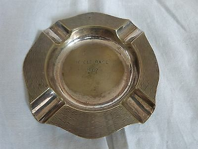 Silver Plate Icicle Race 1962 Ashtray