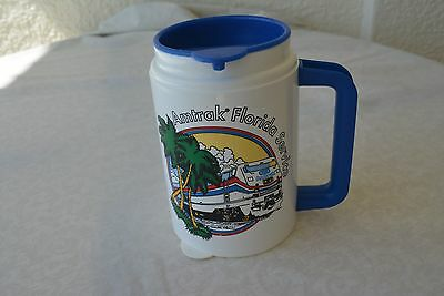 Vintage - Amtrak Florida Service-Travel  Coffee Mug white - Plastic