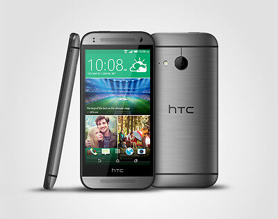 """HTC ONE MINI 2 4G LTE 4.5"""" GREY (Unlocked) ANDROID SMARTPHONE+BOX ACCESSORIES"""
